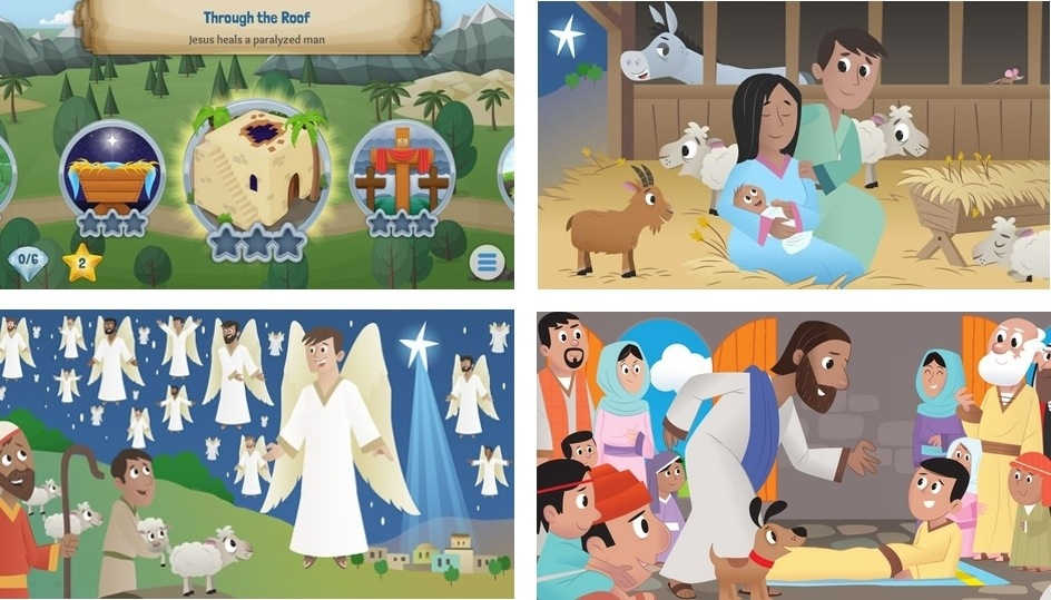 New Free Kids Bible App from YouVersion