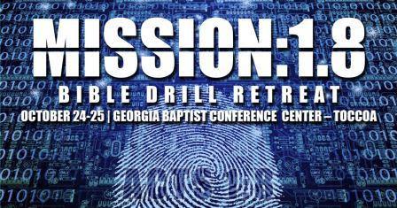 Georgia Bible Drill Retreat 2014